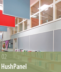 HushPanel, Sound Absorbtion