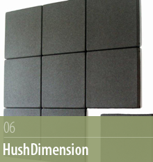 HushDimension, Acoustic Surfaces