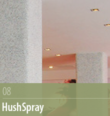 HushSpray, Acoustic Surfaces